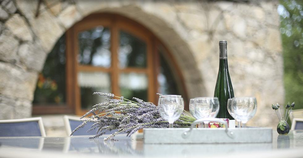 vacances en ardèche, repos et plaisir de la table et des amis - Gites les Princes - 07200 Lanas - Ardèche